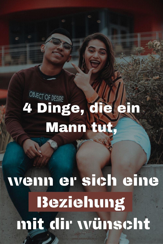 4 Dinge, die ein Mann tut, wenn er sich eine Beziehung mit